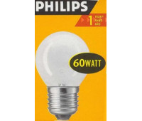 Philips P45 E27 60W шар матовая 3568