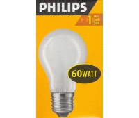Philips A55 E27 60W ЛОН матовая 7317