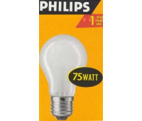 Philips A55 E27 75W ЛОН матовая 354747